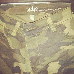 Size 6 women's NYC New camo jeans.